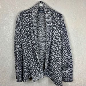 Wooden Ships Open Cardigan Sweater S/M